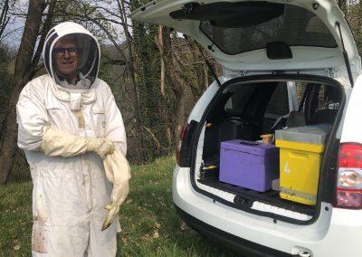 Transfert de la ruchette à plus de 3 km